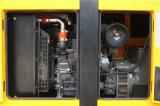 резервный генератор 132kVA приведенный в действие Sdec тепловозный с звукоизоляционным Genset