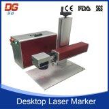 Máquina óptica portable de la marca del laser de fibra de la alta calidad 50W
