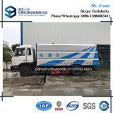 Carro arrebatador de la limpieza de la calle del vacío de Dongfeng 12000L