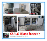 Congelador da explosão de Gelato de 6 bandejas
