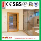 Porte en verre extérieure de Chambre d'aluminium moderne de modèle