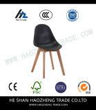 Hzpc131 Grijze Plastic Stoel Vaste Voet - bevat Kussen
