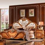La base antica per la mobilia classica della camera da letto ha impostato (W807)