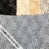 Tela de nylon do laço do algodão pequeno de Pattem da flor