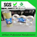 Cinta transparente caliente del embalaje del claro de la cinta del embalaje de la cinta adhesiva del derretimiento de BOPP