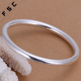 Hot Sale Fashion Simple Design Bracelet rond lisse pour homme