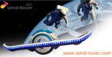 風の粗紡機1の車輪の電気スケートボード