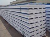 Comitato della parete e del tetto di panino di ENV con la lamiera di acciaio di colore ed isolamento della gomma piuma sulla vendita
