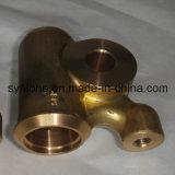Piezas de cobre amarillo modificadas para requisitos particulares de la válvula del bastidor de inversión, bastidor perdido de la cera