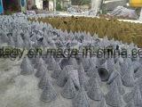Естественный материальный Handwoven цветочный горшок ротанга
