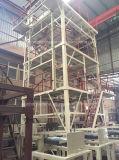3sj-65 máquina de sopro da película da co-extrusão de três camadas