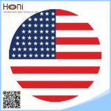 Сплетенное оптовой продажей напечатанное полотенце пляжа флага