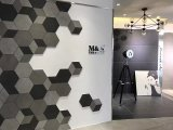 カラーボディ石の床および壁600X600mm (CY04)のためのデザインによって艶をかけられる磁器のタイル