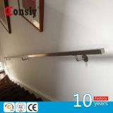 Asis 304/316 ha galvanizzato il supporto d'acciaio del corrimano