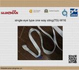 Imbracature di sollevamento ad un solo strato della tessitura En1492-1 (TS-W02-06)