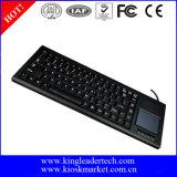 Clavier en plastique industriel de vente chaud avec le touchpad Integrated