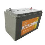 batterie de gel de la longue vie AGM de 12V 100ah pour le système solaire