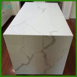 Plak van de Steen van het Kwarts van Calacatta de Witte Kunstmatige voor Countertop
