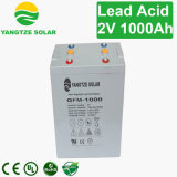 Sunstar Dry Cell Battery 2V 1000ah para Solar