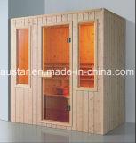 sauna di legno solido di rettangolo di 1800mm per 4 persone (AT-8630)