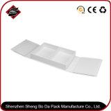Rectángulo de empaquetado de papel de la película del regalo duro mudo de la cartulina