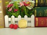 カスタマイズされた金のスポーツの金属の長方形のTaekwondoのブランクの挿入メダル