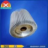 Il dissipatore di calore di trattamento di superficie LED di ossidazione si è sporto dissipatore di calore di alluminio