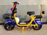 bicyclette électrique de la ville 450W verte
