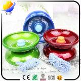 Bille de haute qualité et colorée de yo-yo de jouet d'enfants et et bille en caoutchouc et bille de panier avec la bille de détecteur de support et de bébé et bille de Footbag pour les cadeaux promotionnels