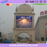 P10 광고를 위한 높은 광도 SMD3535 옥외 풀 컬러 발광 다이오드 표시 패널판 모듈