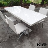 Retangle solide Surface Table Top Restaurant