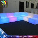 Chaise LED pour jardin à mobilier extérieur
