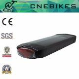 Hintere Zahnstangen-Batterie 36V 14.5ah für elektrisches Fahrrad