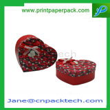 Изготовленный на заказ твердая коробка подарка круглого чая коробки крышки верхней части и дна бумаги с покрытием упаковывая