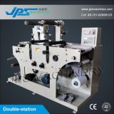Double-Station Price Gun Label Die-Cutting Machinery com corte Funcion
