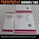 Tag da lavanderia da etiqueta RFID da capacidade de armazenamento RFID da freqüência ultraelevada