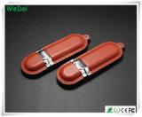 Шикарный привод пер USB кожи с высоким качеством (WY-L02)