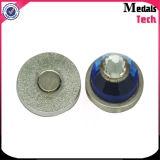 Indicatore poco costoso della sfera di golf del metallo della clip magnetica su ordinazione del cappello