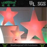 Estrela ao ar livre clara de suspensão do Natal do diodo emissor de luz da iluminação da estrela (LDX-X02)