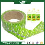 L'OEM a estampé l'étiquette de rétrécissement de PVC pour le module de bouteille