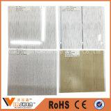 Placa decorativa interior laminada PVC dos painéis de teto do PVC do painel de parede