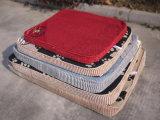 De Stootkussens van de Slaap van het Kussen van de Hond van de kwaliteit sponsen de Vierkante Bedden van het Huisdier van het Fluweel af