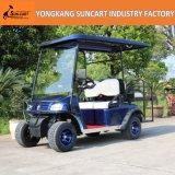 新しいモデル4のシートの通りのタイヤが付いている車輪によって塗られるゴルフカート