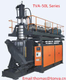 La máquina del moldeo por insuflación de aire comprimido de Tva-50L-II para el barril plástico preside la botella