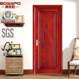 Precio de madera dirigido de la puerta de la madera contrachapada de la puerta (GSP8-007)