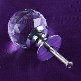 Werksgesundheitswesen-Kristallglas-Tür-Schrank-Drehknopf für Möbel-Griffe