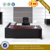 Escritorio ejecutivo L vector de la oficina de la dimensión de una variable (HX-G0195) de los muebles de madera