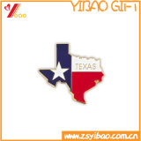 Горячий значок сувенира металла формы флага сбывания (YB-LY-B-10)