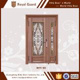 L'usine personnalisent des modèles de porte de garantie de porte extérieure de porte d'acier inoxydable