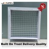 Решетка клети яичка отражетеля AC регистра HVAC алюминиевая